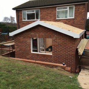 Complete kitchen extension