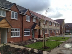 New build houses Redrow homes